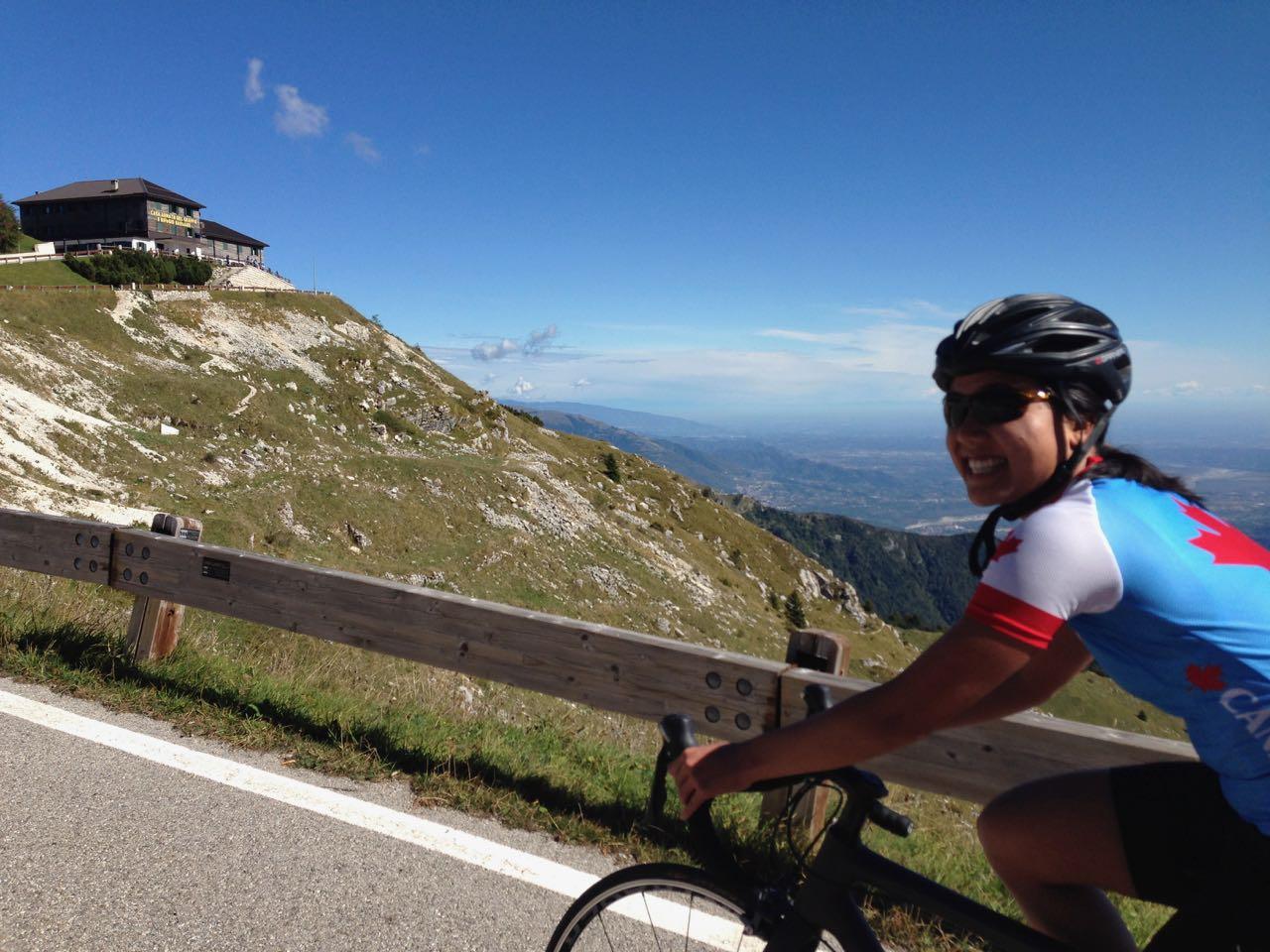 Rennradtour Monte Grappa / Monica