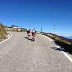 Rennradtour Monte Grappa / Rennradfahrer