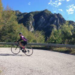 Rennradtour Passo Praderadego - Passo San Boldo / Kehren