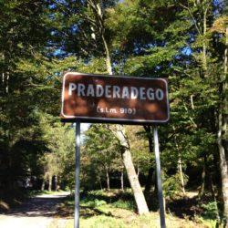 Rennradtour Passo Praderadego - Passo San Boldo / Passhöhe Praderadego (910m)