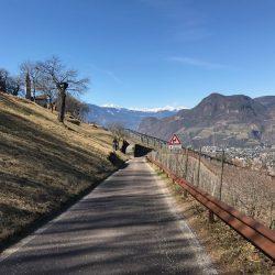 Downhill nach Bozen