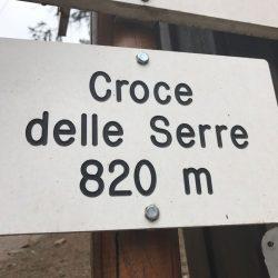 Croce delle Serre - 820m