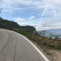 Steile Rennradrunde Südtiroler Unterland: Frühling