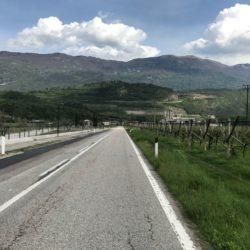 Rennradtour Trentino: Bondonegebirge