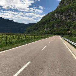 Rennradtour Trentino: Etschtal
