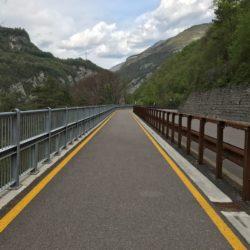 Rennradtour Trentino: Radweg Sarcheschlucht