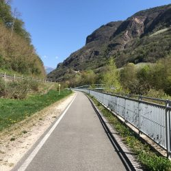 Rennradrunde Sellajoch - Karerpass: Etschtalradweg