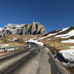 Rennradrunde Sellajoch - Karerpass: Langkofel