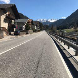 Rennradrunde Sellajoch - Karerpass: St. Ulrich
