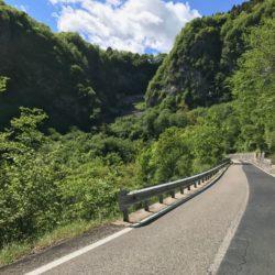 Rennradtour Passo San Boldo - Passo Praderadego / Attacke