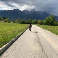 Rennradtour Passo San Boldo - Passo Praderadego / Auffahrt Carve