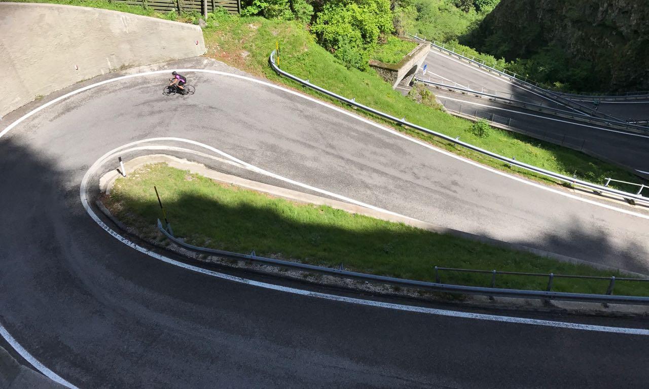 Rennradtour Passo San Boldo - Passo Praderadego / Monica