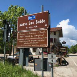 Rennradtour Passo San Boldo - Passo Praderadego / Passo San Boldo (706m)