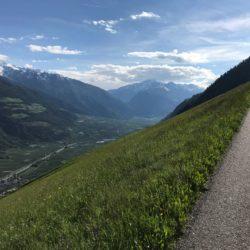 Rennradtour Vinschgau / Anstieg