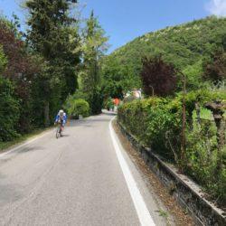Rennradtour Monte Cesen / Start