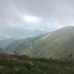Rennradtour Monte Cesen / Aussicht