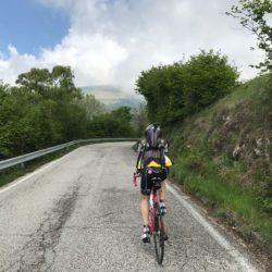 Rennradtour Monte Cesen / Rennradfahrer