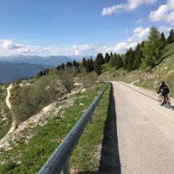 Rennradtour Monte Grappa / Abfahrt