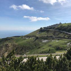 Rennradtour Monte Grappa / Aussicht nach Süden
