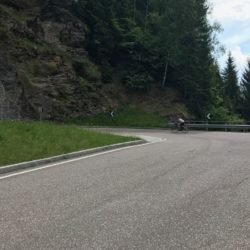 Rennradtour Passo Rombo / Erste Kehren