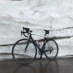 Rennradtour Passo Rombo / Schneereste