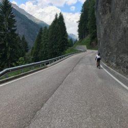 Rennradtour Passo Rombo / Wenig Verkehr