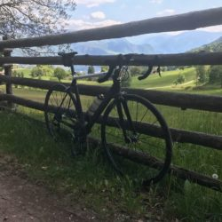 Rennradtour Meran / Grissian Ende Asphalt