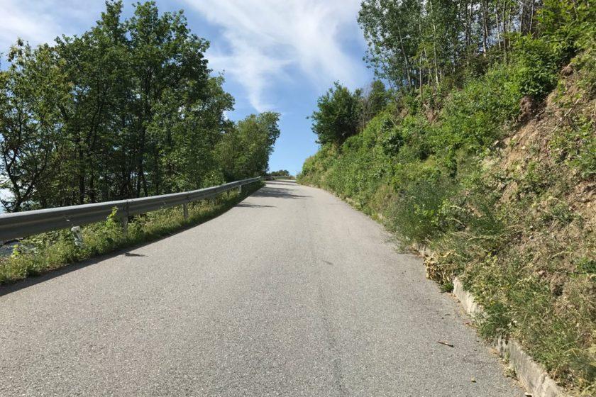 Rennradtour Passeiertal / Steiler Anstieg