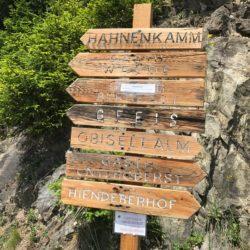 Rennradtour Passeiertal / Schilder