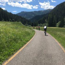 Rennradtour Karerpass - Reiterjoch / Radweg Fassatal