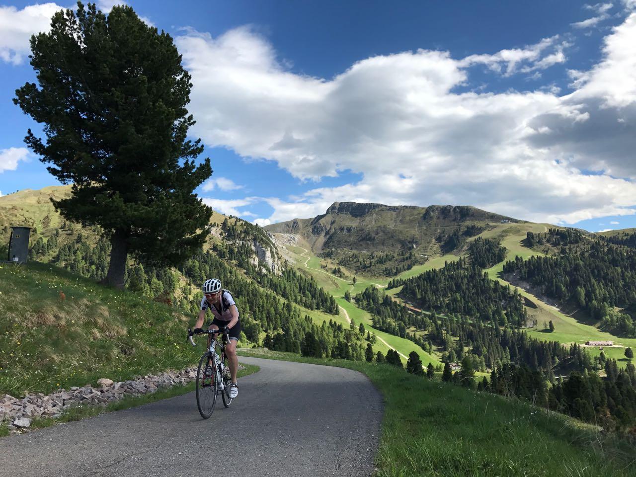 Rennradtour Karerpass - Reiterjoch / Linde