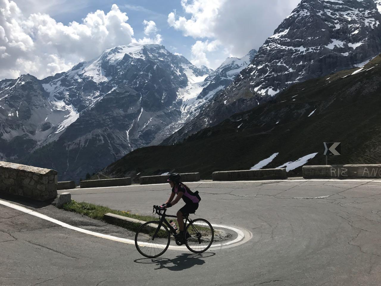 Rennradtour Passo Stelvio / Monica