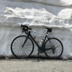 Rennradtour Passo Stelvio / Schnee