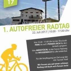 Radtag Penserjoch 2017