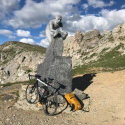 Rennradtour Sanremo - Bolzano: Colle della Fauniera