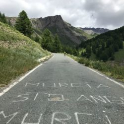 Rennradtour Sanremo - Bolzano: Start Agnello
