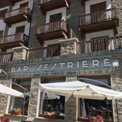 Rennradtour Sanremo - Bolzano: Bar Sestriere (2033m)