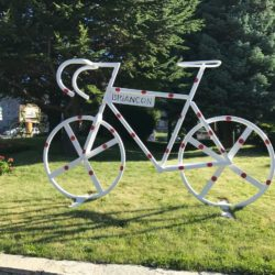 Rennradtour Sanremo - Bolzano: Start Briancon