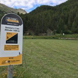 Rennradtour Sanremo - Bolzano: 7 Kilometer zum Izoard