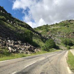 Rennradtour Sanremo - Bolzano: Staumauer Cenis
