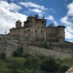 Rennradtour Sanremo - Bolzano: Chateau Queryas