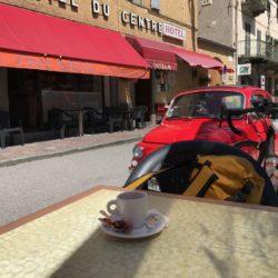 Rennradtour Sanremo - Bolzano: Coffeebreak