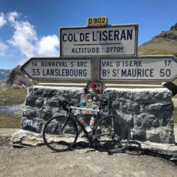 Rennradtour Sanremo - Bolzano: Col de l'Iséran (2764 m)