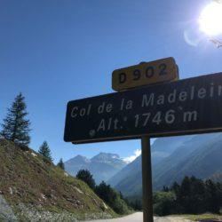 Rennradtour Sanremo - Bolzano: Col de la Maddeleine (1746m)