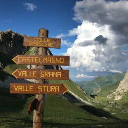 Rennradtour Sanremo - Bolzano: Colle Esischie (2370m)