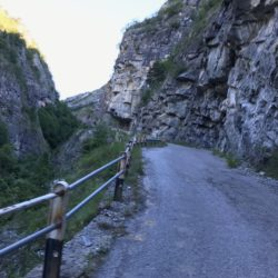 Rennradtour Sanremo - Bolzano: Elvaschlucht