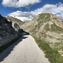 Rennradtour Sanremo - Bolzano: Vom Colle dei Morti (2481 m)