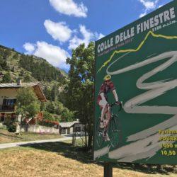 Rennradtour Sanremo - Bolzano: Plakat Finestre
