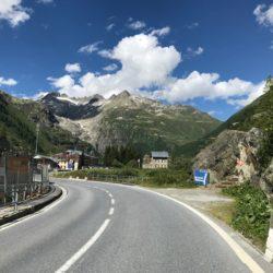 Rennradtour Sanremo - Bolzano: Gletsch