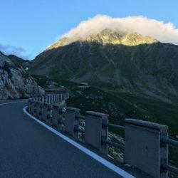 Rennradtour Sanremo - Bolzano: Finale Grosser Sankt Bernhard